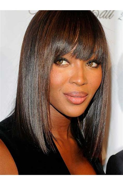 Black Hairstyles Bob With Bangs by 12inch 2 Darkest Brown Lace Bob Hairstyles With