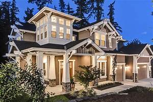 Grand Craftsman House Plan