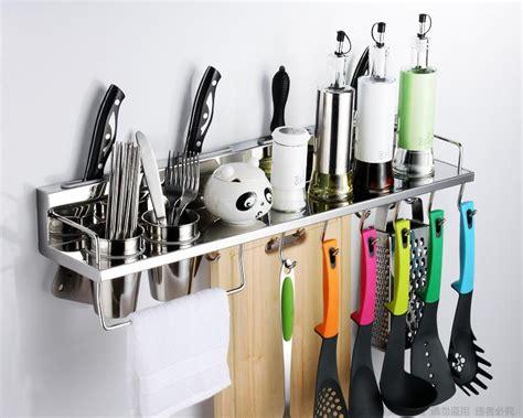 kitchen utensil storage 304 stainless steel kitchen rack kitchen shelf cooking 3424