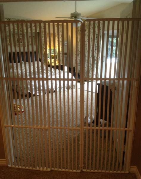 baby gate with cat door pet door cat gate 72 quot high fur babies