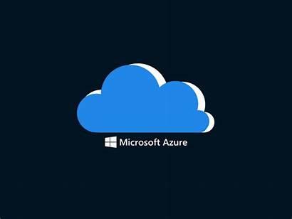 Azure Microsoft Animation Cloud Dribbble Icon Croquette