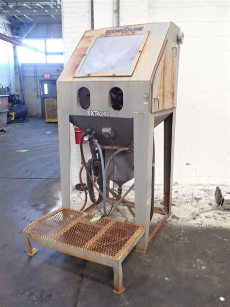 econoline blast cabinet 283038 for sale used