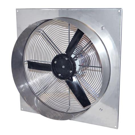variable speed exhaust fan canarm stainless steel variable speed tube fan 24 quot farmtek