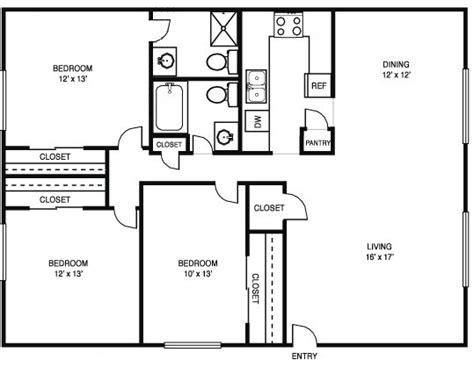 stunning simple  bedroom house floor plans