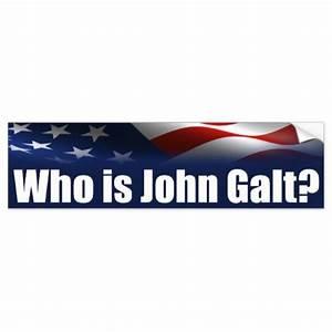 Who is John Galt? Bumper Sticker | Zazzle