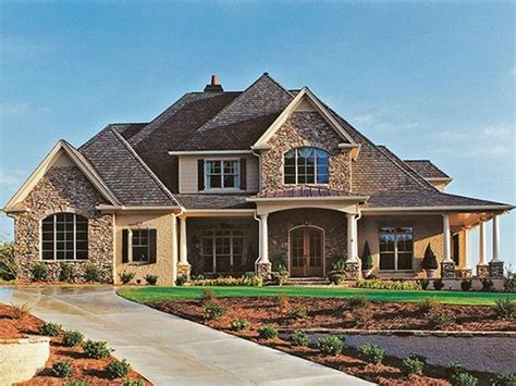 Plans Maison En Photos 2018  New American House Plan With