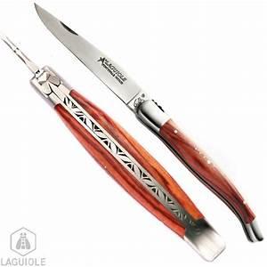 Couteau à Bois : couteau laguiole collection manche bois de rose ~ Edinachiropracticcenter.com Idées de Décoration