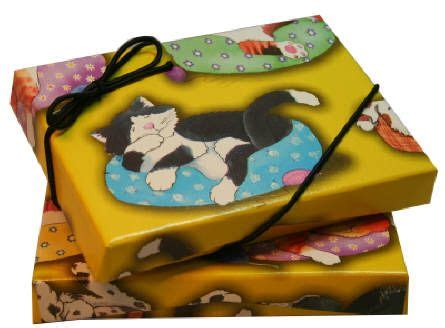 cats  dogs gift card box  images gift card