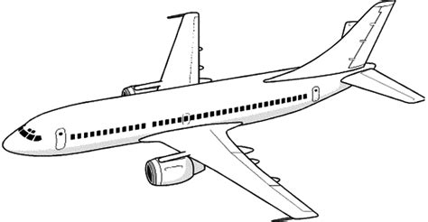 5 airplane drawing line for free ayoqq cliparts