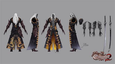 Alucard Castlevania Lord Of Shadow 2 Illustration