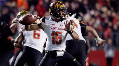 Terps Walkon Qb Ryan Brand Took An Unlikely Path To A