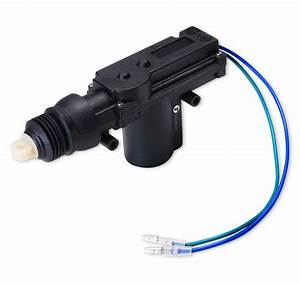 Zone Tech High Power Door Lock Actuator Motor 2 Wire 12v