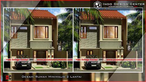 desain rumah minimalis  lantai jasa desain rumah bekasi