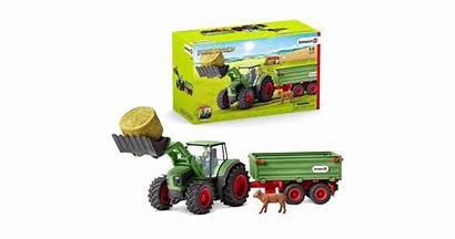 Schleich Tractor Trailer Farm Kogan
