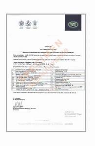 Attestation Tva 10 : certificat conformit national fran ais landrover ~ Melissatoandfro.com Idées de Décoration