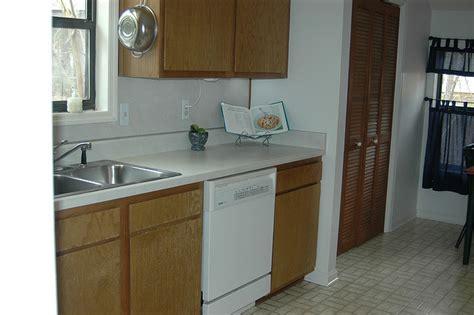 no backsplash in kitchen hometalk remodeled 80 s kitchen 3545
