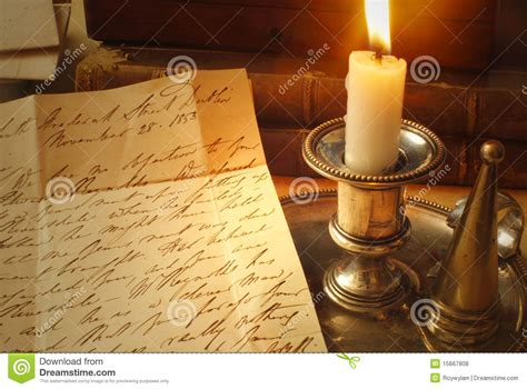Candela In Inglese by Vecchie Lettere E Candela Scrittura A Mano Elegante
