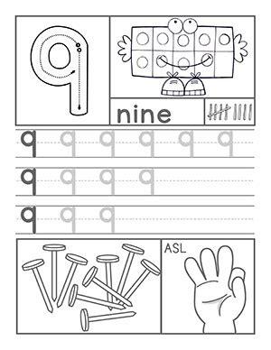 math archives preschool 195   Number89
