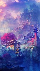 Japanese art wallpaper | Japanese house, Color paints and ...
