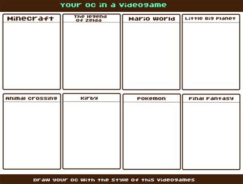 Base Meme - meme base your oc in a videogame by tiv3n on deviantart