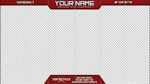twitch layout template - facecam border template related keywords facecam border
