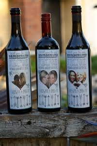 wedding wine bottle labels will you be my wedding wine labels bridesmaid wine bottle labels via etsy wedding