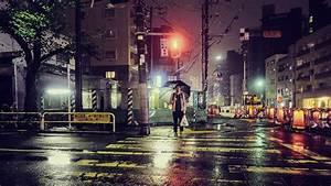 Empty City Street At Night Raining   www.pixshark.com ...