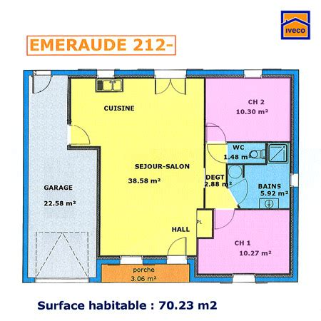 plan appartement 2 chambres plan appartement 70m2 2 chambres