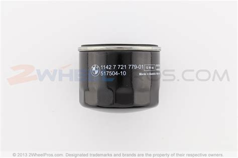 11427721779 Bmw Oil Filter 2wheelpros