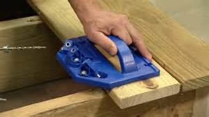 kreg hidden fastener deck jig from woodcraft today s