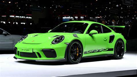 2019 Porsche Gt3 Rs by 2019 Porsche 911 Gt3 Rs Makes Debut In Geneva The