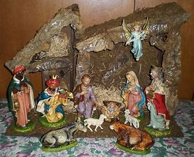Image result for images antique creche
