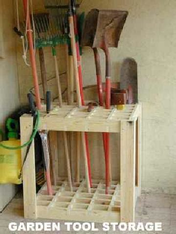garden tool rack 40 diy garden and yard tool storage ideas
