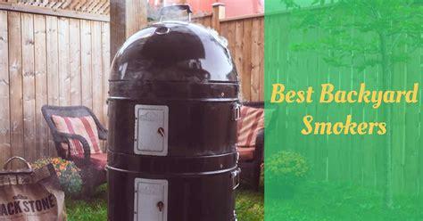 backyard smokers reviews cooking top gear