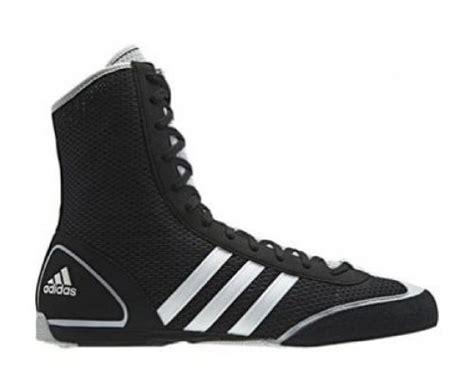 Adidas Box Rival Ii Boxing Shoes, Black, Us11