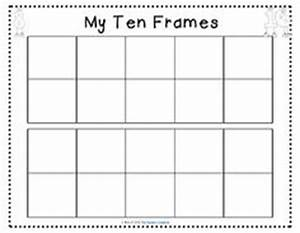 1000 images about ten frames on pinterest ten frames With 10 frame template printable
