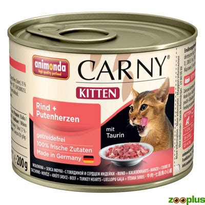 animonda carny kitten katzenfutter test