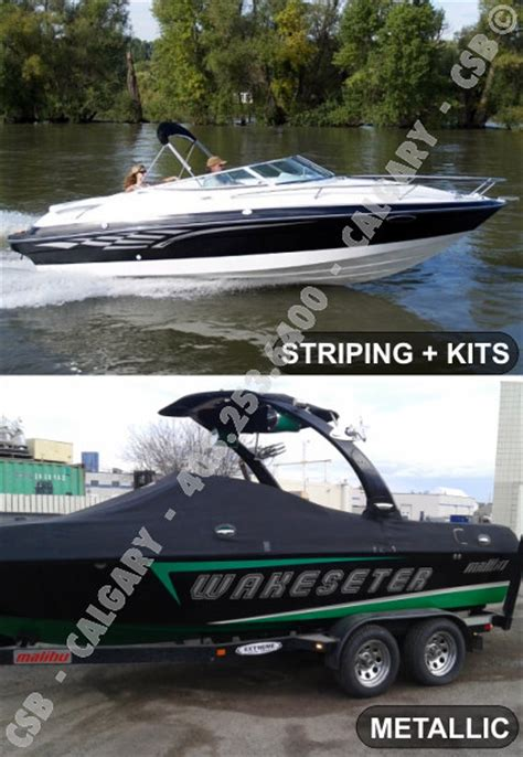 Boat Decals Calgary by Vehicle Advertising Graphics Calgary