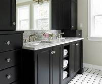 black bathroom vanities 15 Black Bathroom Vanity Sets | Home Design Lover