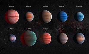Space Telescopes Reveal Details of Ten Jupiter-Sized ...