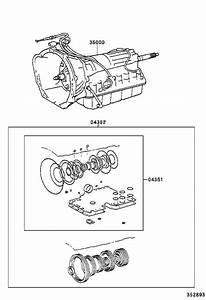 Toyota Tacoma Automatic Transmission  Transaxle  Assembly