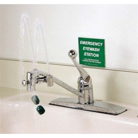 eye wash faucet station 58117