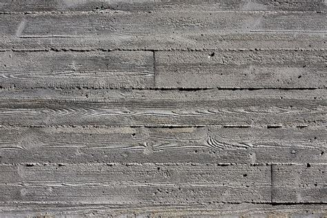 concrete with wood panel marks search house