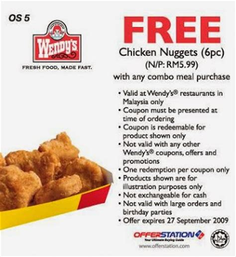 Wendys Coupons For April  Coupon Codes Blog