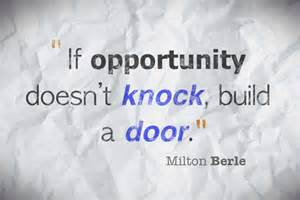 Great Quotes About Opportunity