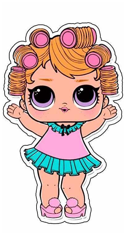 Lol Surprise Doll Aplique Tubete Dolls Imprimir