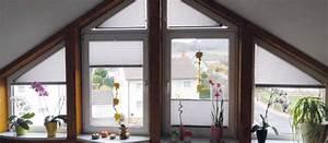 Plissee Befestigung Holzfenster : dreiecksfenster plissee und andere besondere formen ~ Orissabook.com Haus und Dekorationen