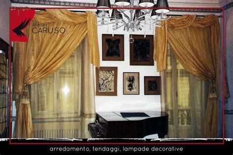 Bastoni Per Tende Con Mantovana by Tendaggi Classici Con Mantovana Atelier Tessuti