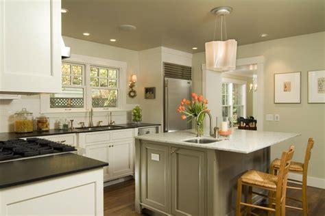 Shingle Style Cottage-traditional-kitchen-san