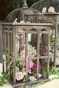 Oiseaux Decoration Exterieur : la cage oiseaux d corative tendance shabby chic ~ Melissatoandfro.com Idées de Décoration